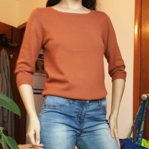 💚Host Pick💚 UO Burnt Orange/Rust Sweater
